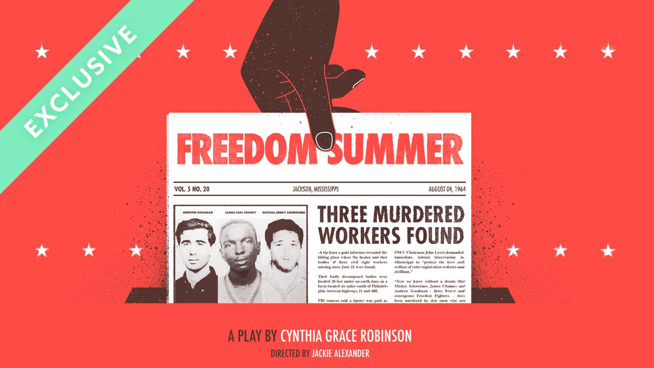NC Black Repertory Co. Presents: Freedom Summer