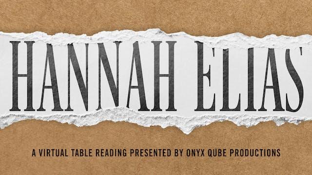 Hannah Elias : Teaser