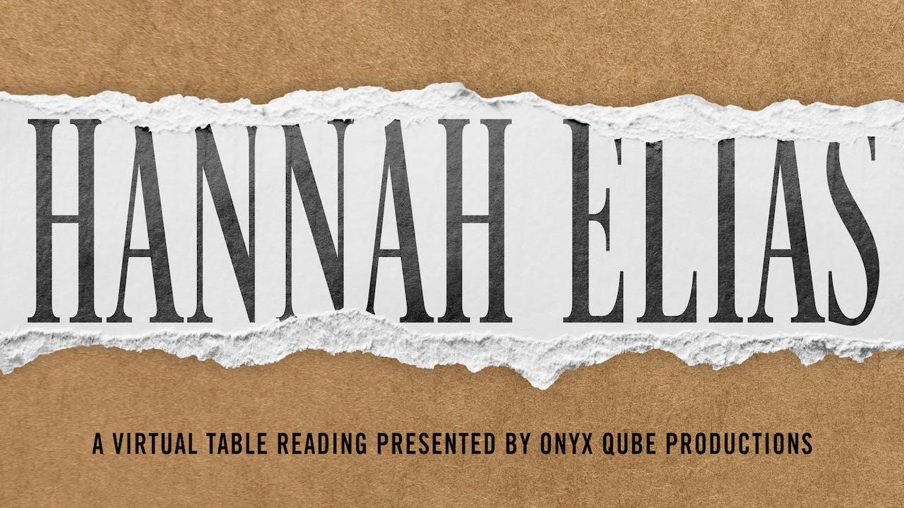 Hannah Elias