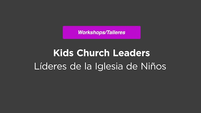 Kids Church Leaders