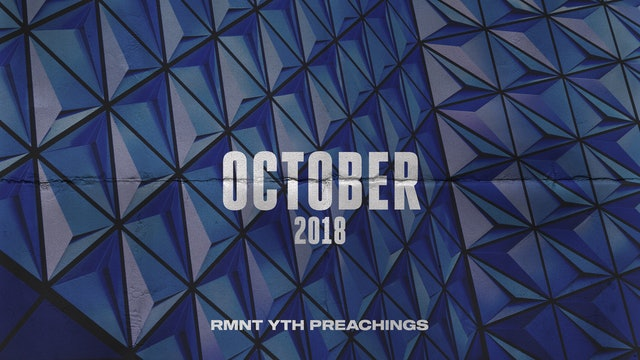 October 2018 Youth Preachings
