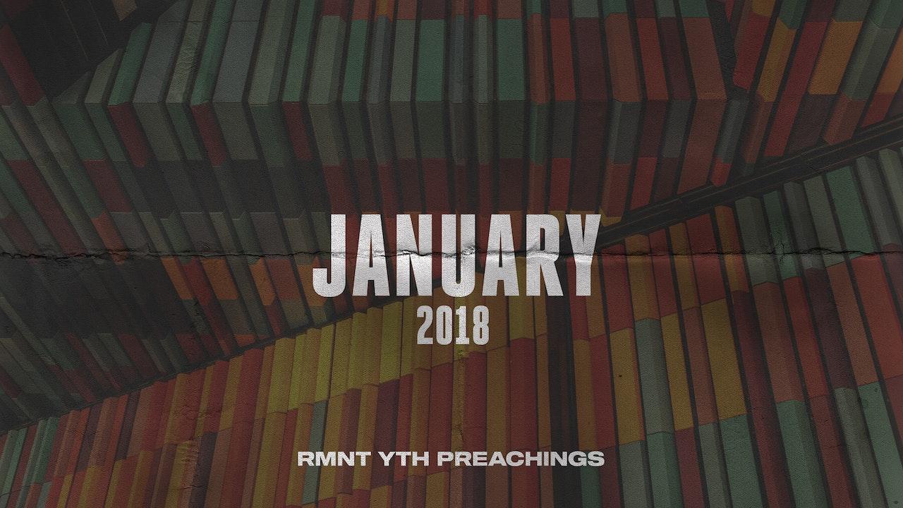 January 2018 Youth Preachings