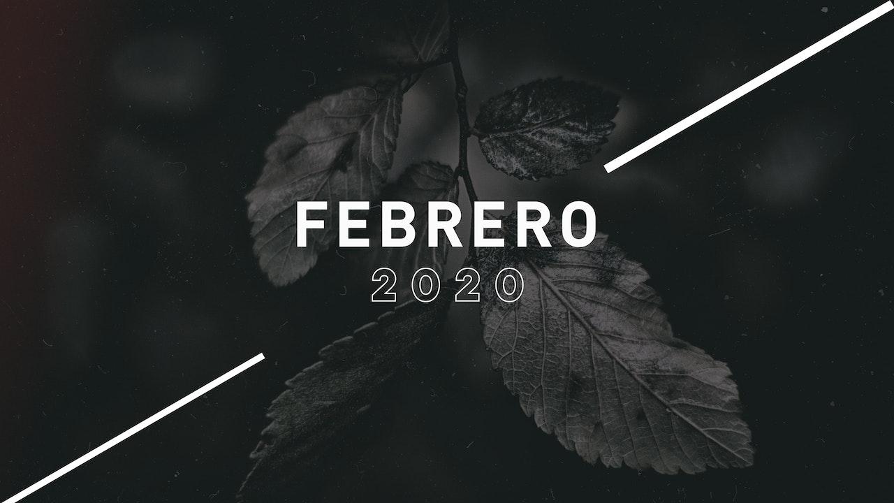 Febrero 2020 Predicas
