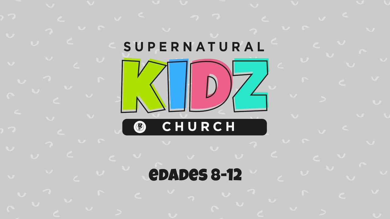 Supernatural Kidz Church Edades 8-12