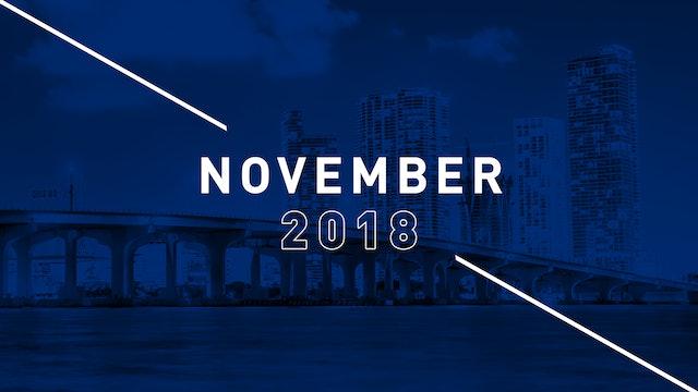 November 2018 Preachings