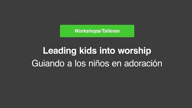 Leading Kids into Worship