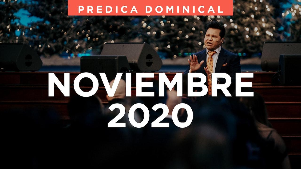 Noviembre 2020 Predicas
