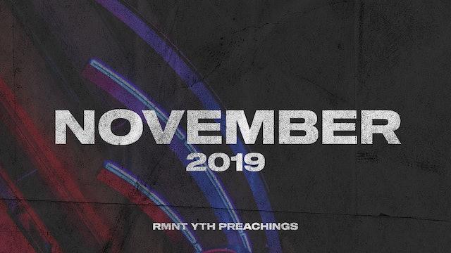 November 2019 Youth Preachings