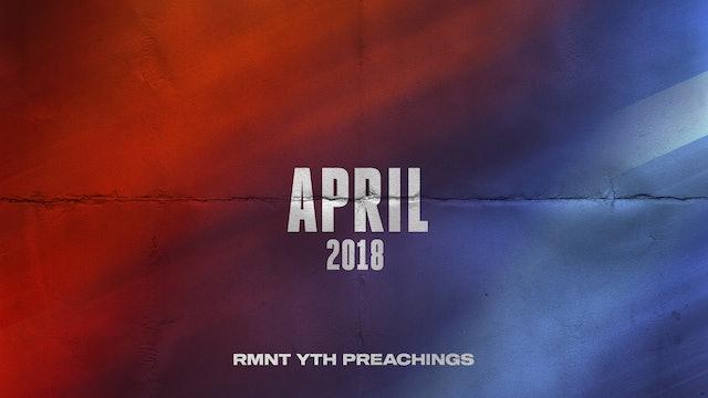 April 2018 Youth Preachings