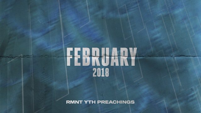 February 2018 Youth Preachings
