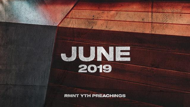 June 2019 Youth Preachings