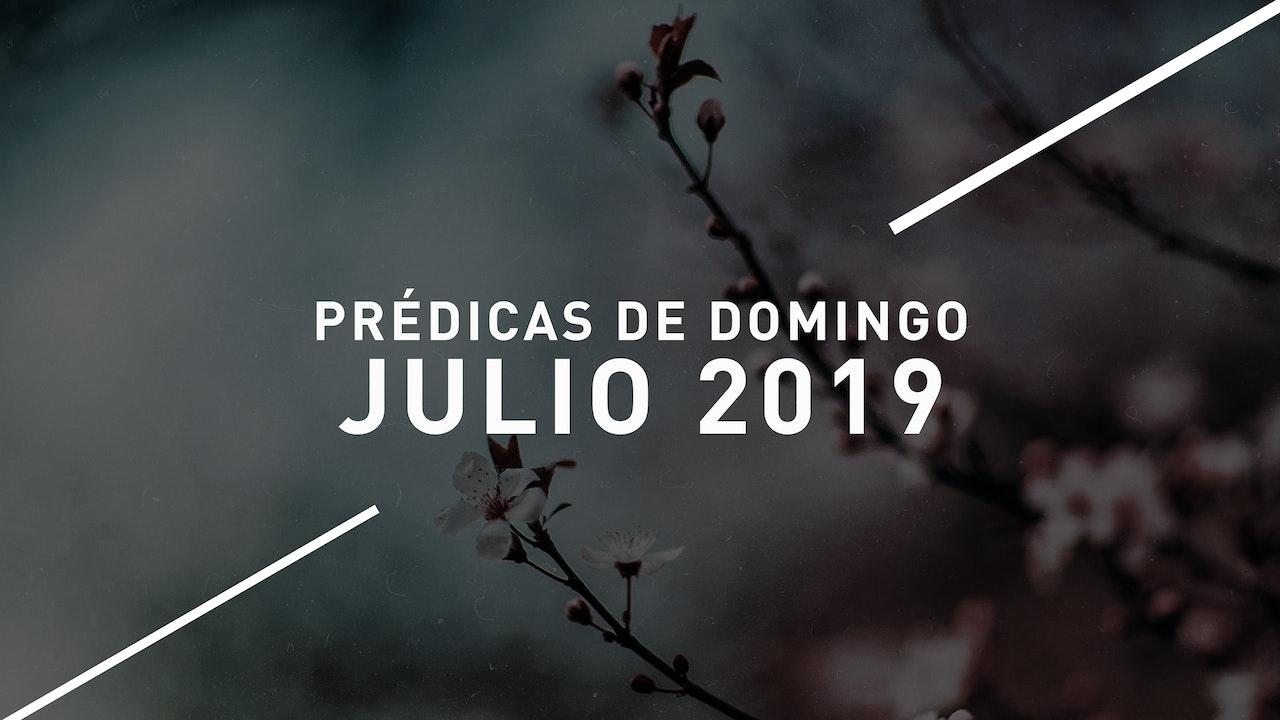 Julio 2019 Predicas