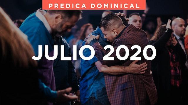 Julio 2020 Predicas