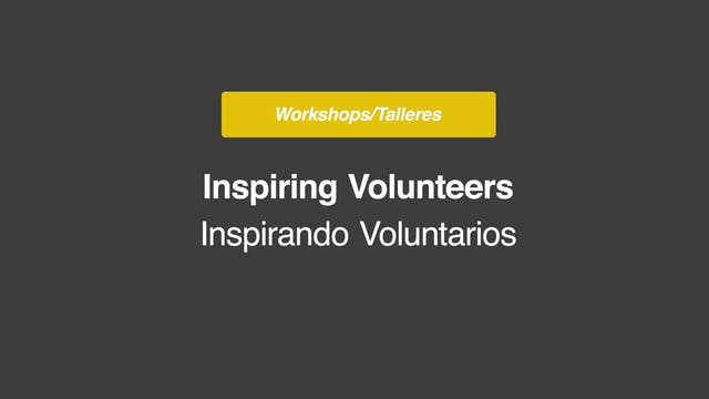 Inspiring Volunteers