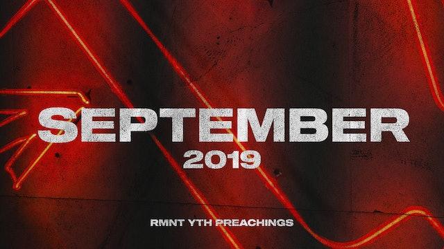 September 2019 Youth Preachings
