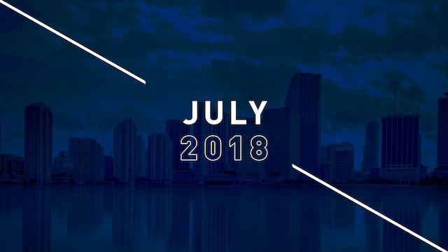 July 2018 Preachings