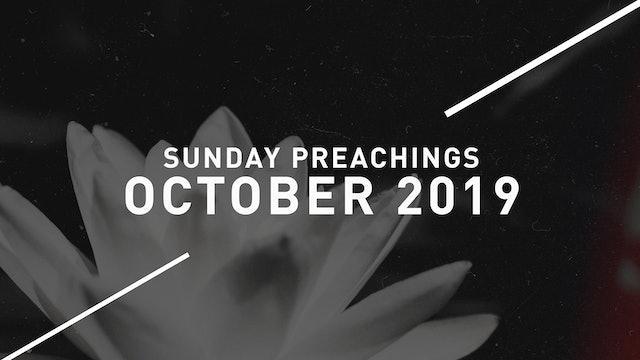 October 2019 Preachings