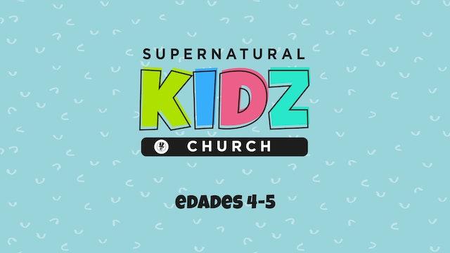 Supernatural Kidz Church Edades 4-5