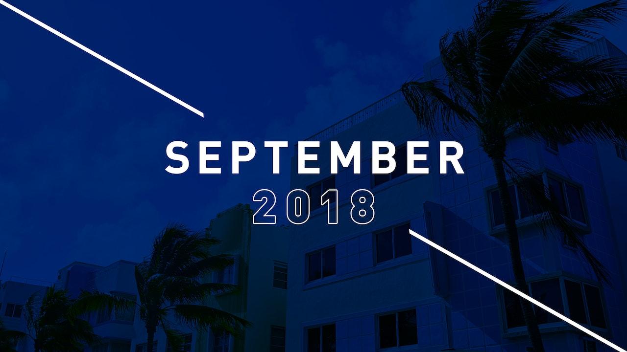 September 2018 Preachings