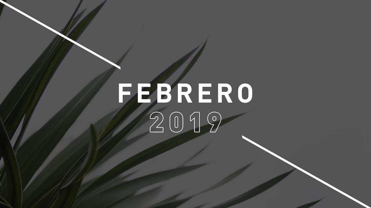 Febrero 2019 Predicas