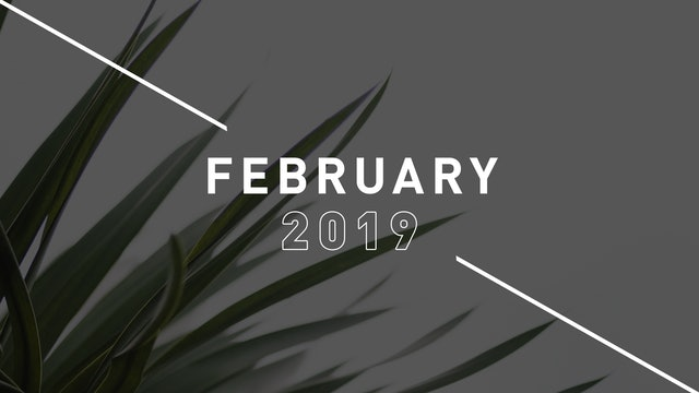 February 2019 Preachings