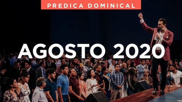 Agosto 2020 Predicas