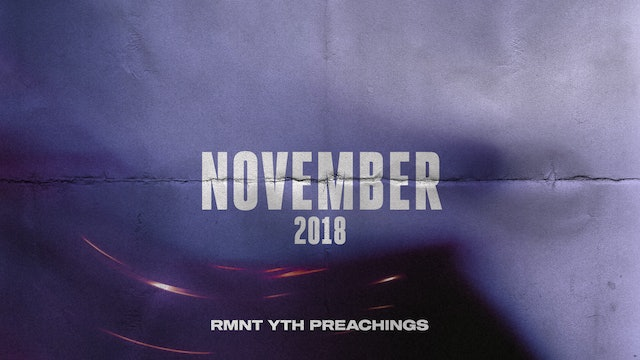 November 2018 Youth Preachings