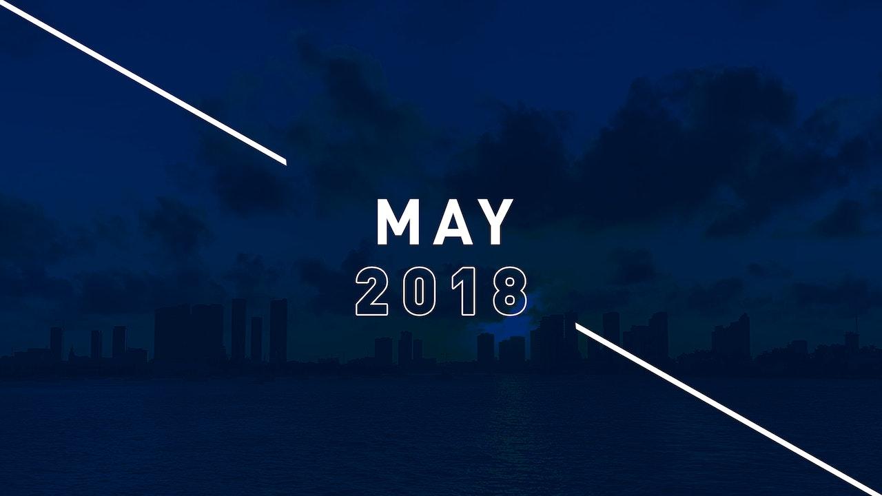 May 2018 Preachings
