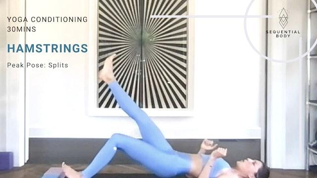 Yoga Conditioning | 30mins Hamstring Strength