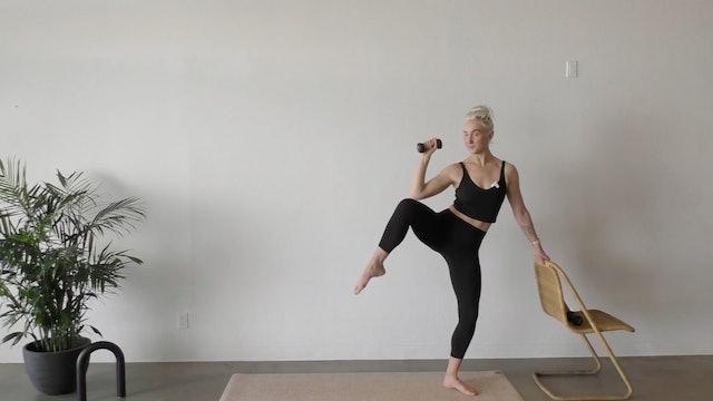 Strength Pilates: 13min QUICK Full Body