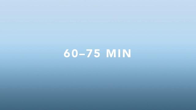 60-75 minutes