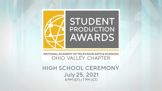 The Ohio Valley Chapter's 2021 Regional High School Student Production Awards