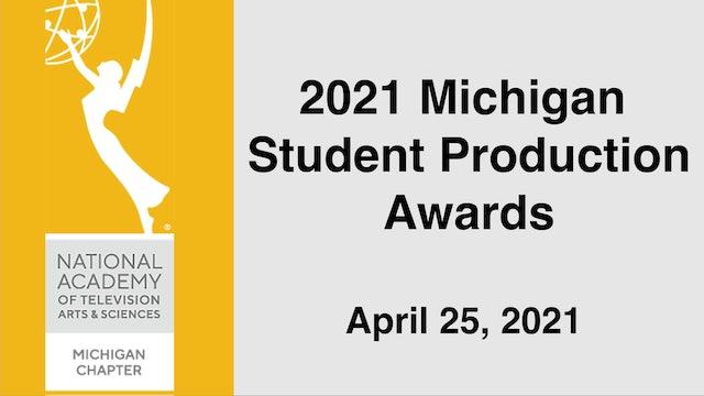 NATAS Michigan 2021 Student Production Awards