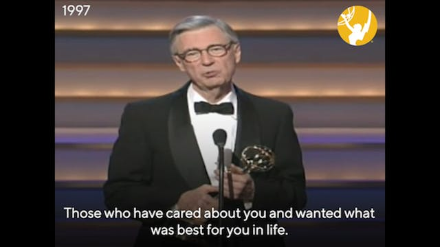 Fred Rogers - Lifetime Achievement Award