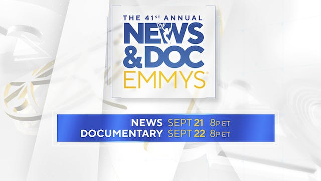 The 41st Annual News & Documentary Emmy® Awards