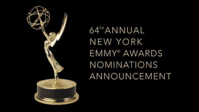 NY NATAS 64th Emmy Awards Nominations...