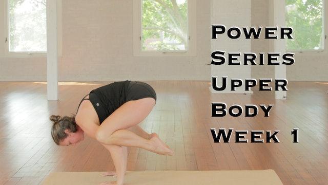 Power Yoga Series Week 1 Upper body
