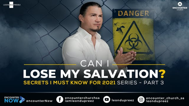 Can I Lose My Salvation? | Secrets I ...