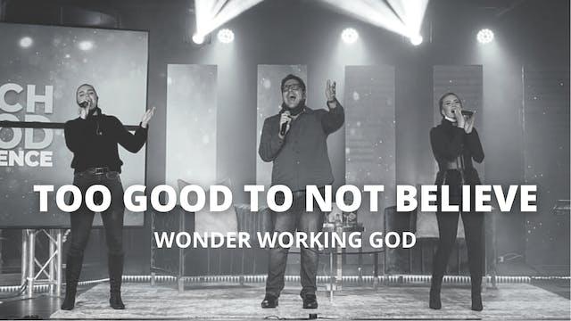 Too Good To Not Believe - Wonder Work...