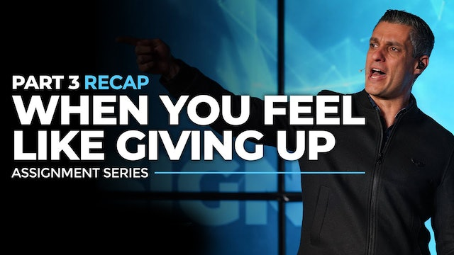 What To Do When You Feel Like Giving Up? -  RECAP