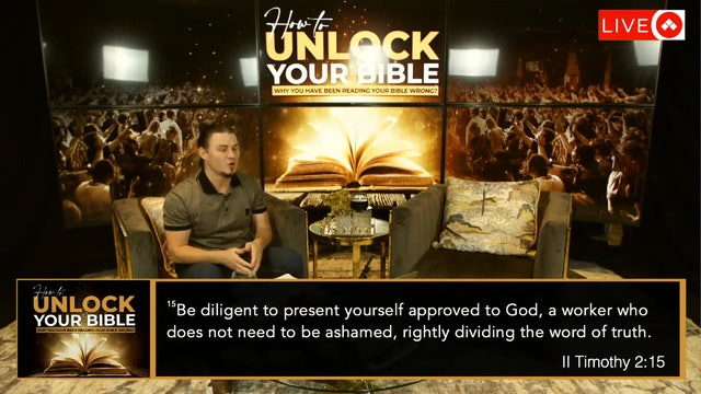 How To Unlock Your Bible - Part 1