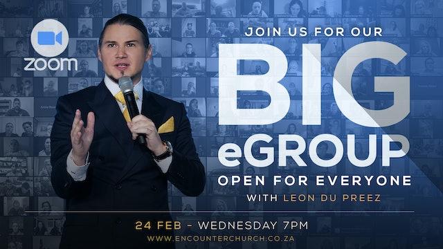 Big eGroup with Leon Du Preez