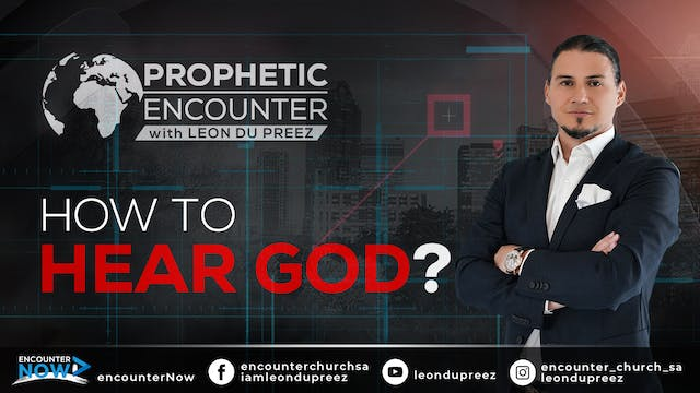 How To Hear God | Prophetic Encounter...