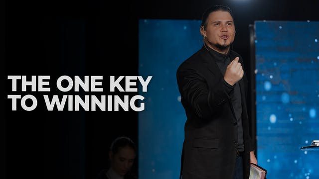The One Key To Winning