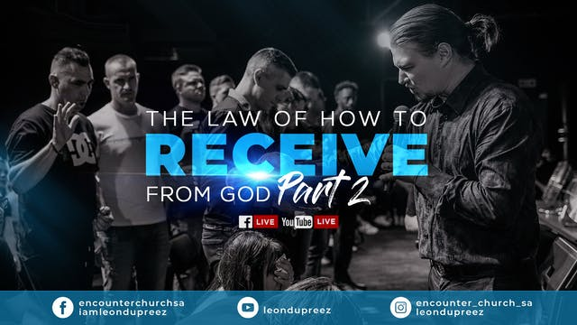 The Law On How To Receive From God - ...