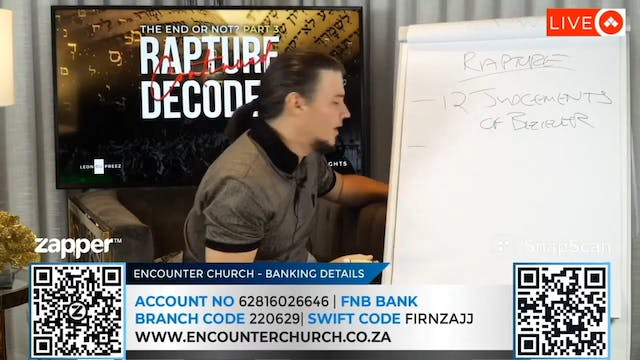 End Or Not Session 3 - Rapture Decode...