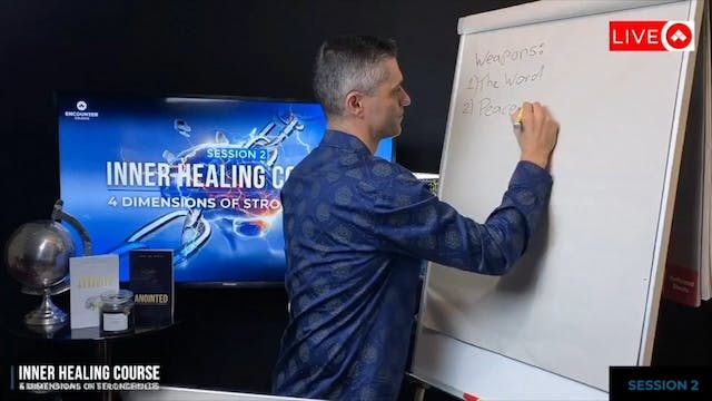 Inner Healing Session 2 - Dimensions Of Strongholds Part 1