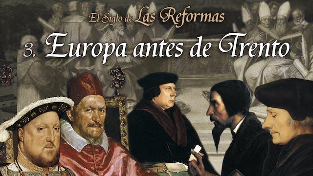 Europa antes de Trento