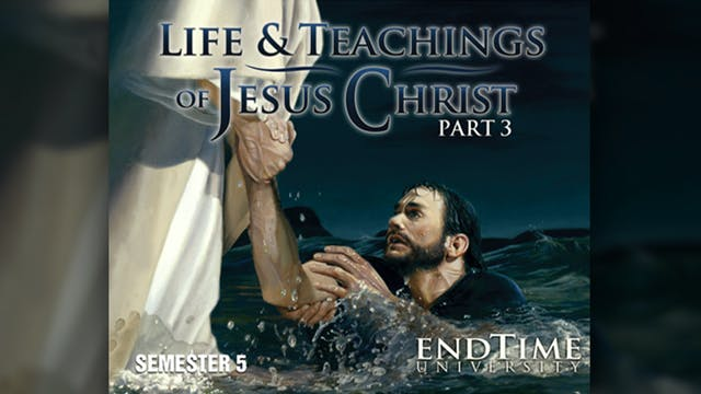Jesus Prepares His Disciples for His ...