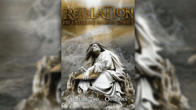 Revelation: The Unveiling of Jesus Christ Vol 2 eWorkbook